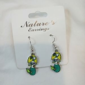 Mermaid Dangle Earrings!